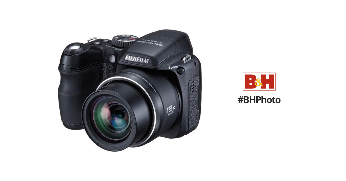Fujifilm finepix s2000hd digital camera 15841174 b h photo for Fujifilm finepix s2000hd prix