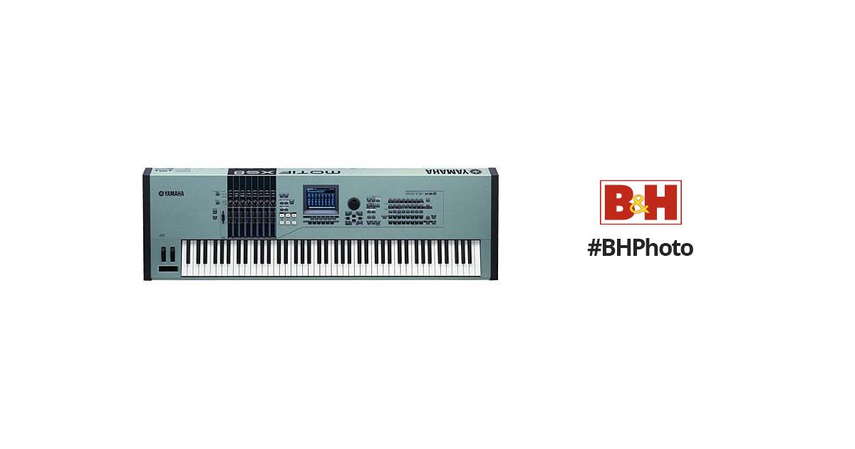 Yamaha motif xs8 88 key synthesizer workstation motifxs8 b h for Yamaha motif xs8 specs