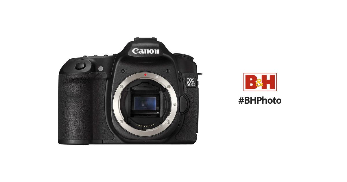 used canon eos 50d slr digital camera camera body 2807b006 b h rh bhphotovideo com Canon EOS 20D Canon EOS 80D