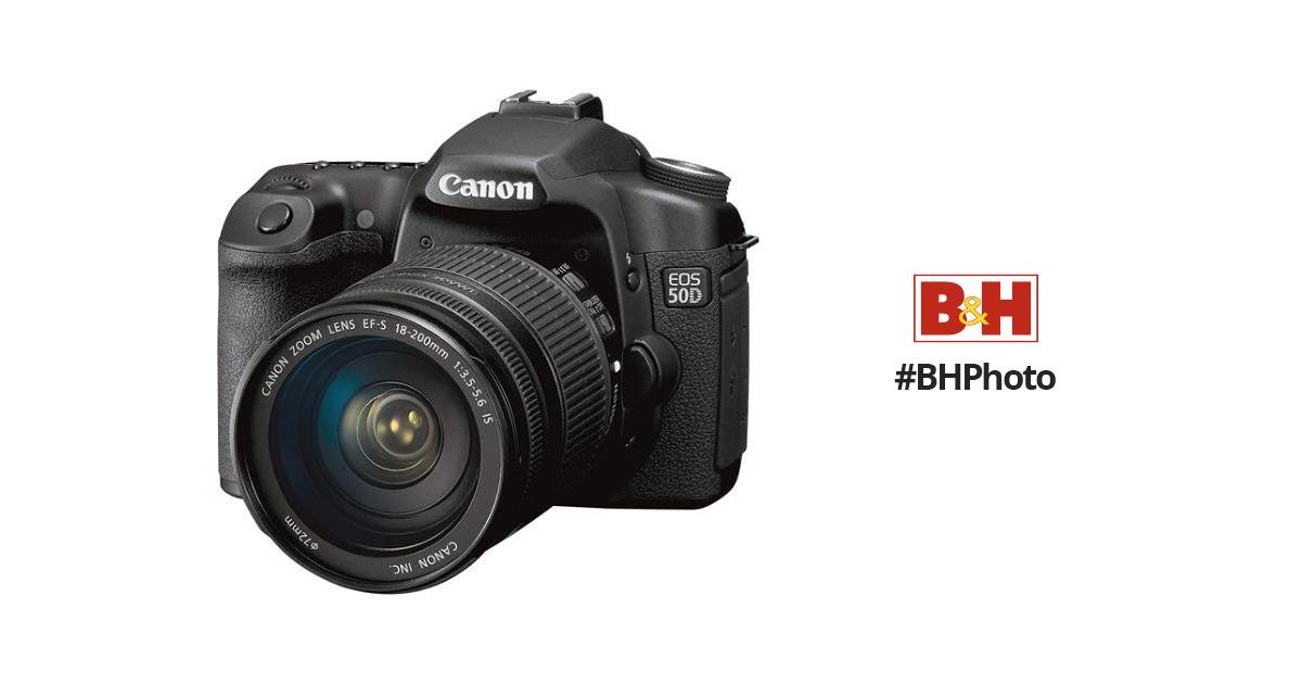 canon eos 50d slr digital camera kit with canon 2807b017 b h rh bhphotovideo com