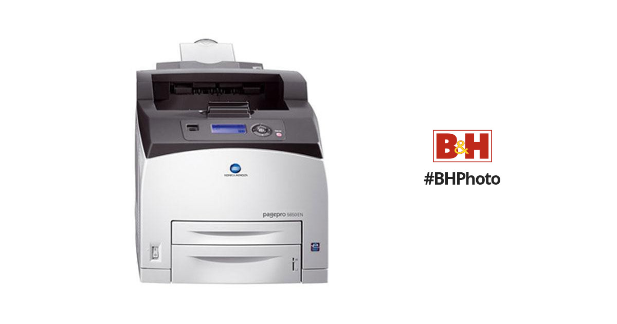 Konica Minolta Pagepro 5650EN Printer PS-PPD Treiber Windows 7