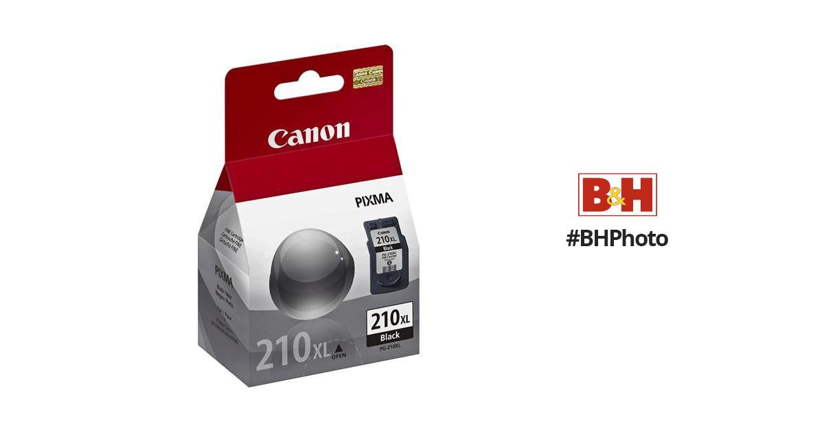 Canon PG 210XL Black Ink Tank 2973B001 BH Photo Video