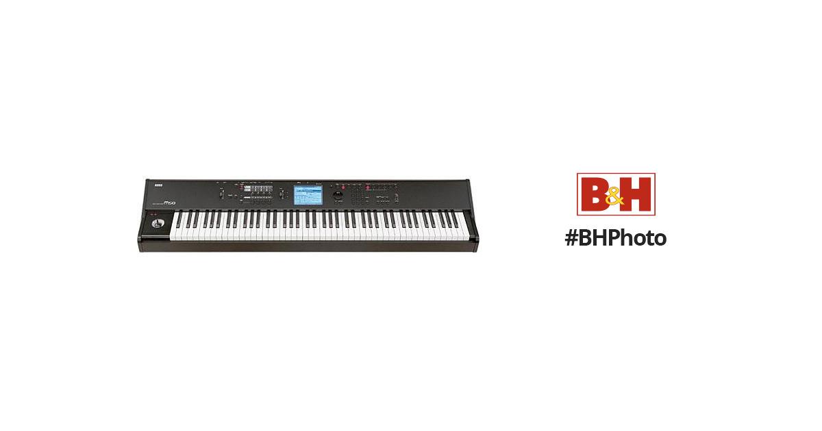 korg m50 88 key synthesizer workstation with weighted keys m5088. Black Bedroom Furniture Sets. Home Design Ideas