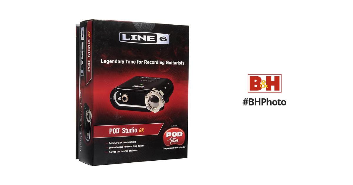 Line 6 POD Studio GX - Recording Interface
