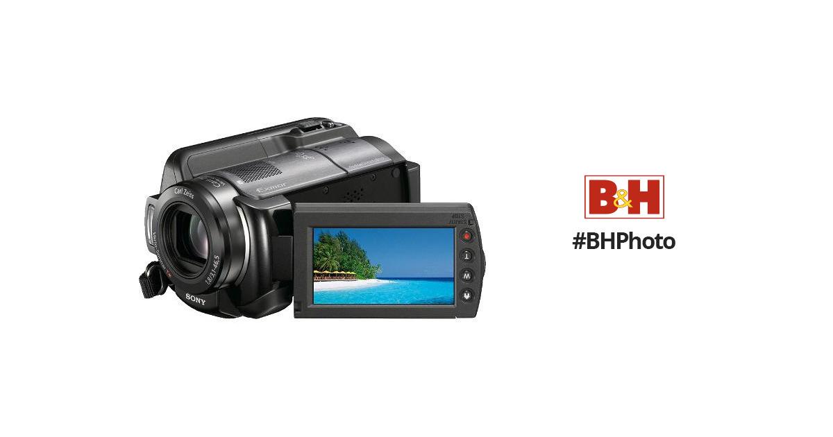 sony hdr xr200v 120gb high definition handycam hdrxr200v b h rh bhphotovideo com Sony HDR CX430 Sony HDR XR160