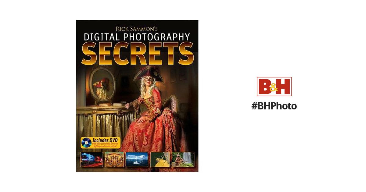 Wiley Publications Book/DVD: Rick Sammon's 978-0-470-42873-3 B&H