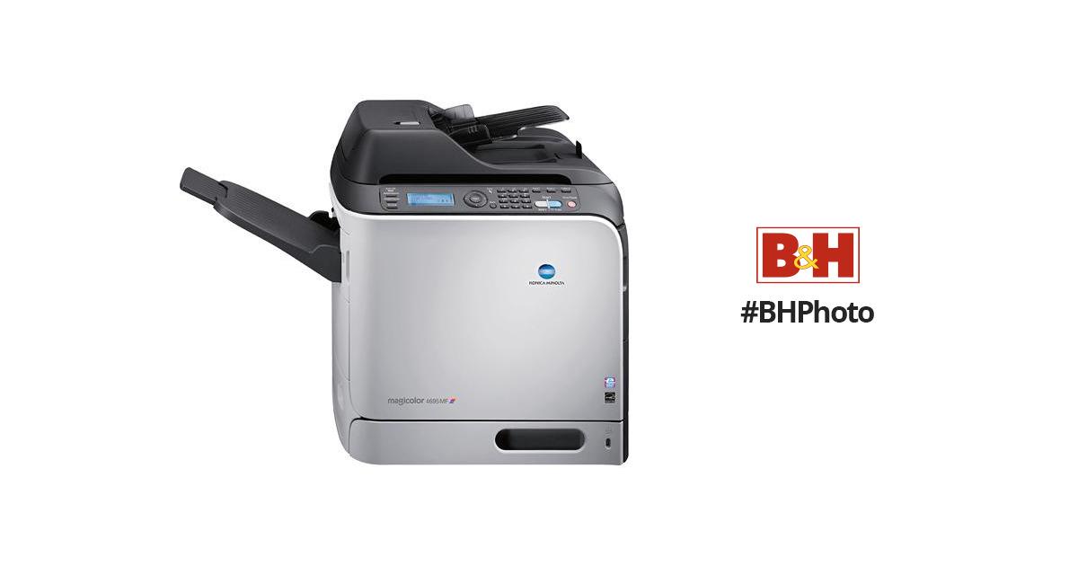 Konica Minolta magicolor 4695MF Network Color All-in-One Laser Printer