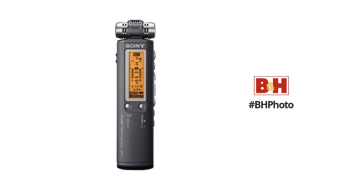 sony icd sx700 digital voice recorder icdsx700 b h photo video rh bhphotovideo com Sony IC Recorder Sony Digital Voice Recorder