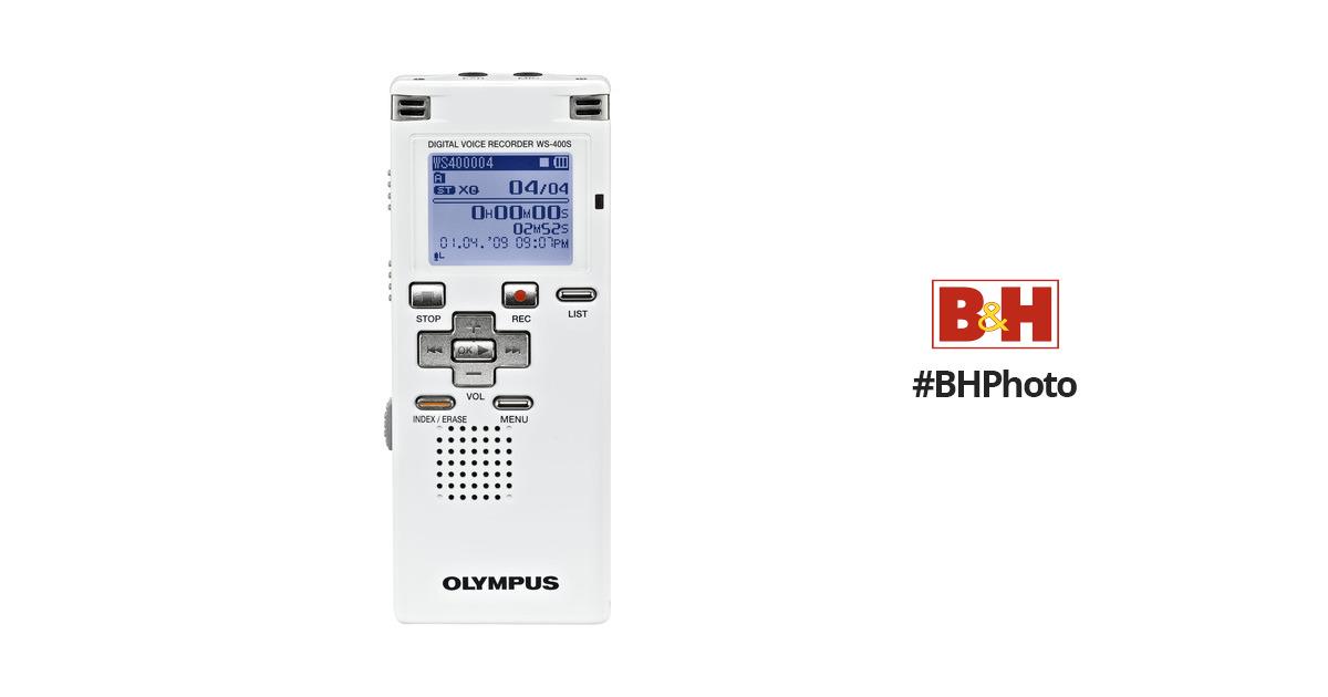olympus ws 400s digtial voice recorder 142035 b h photo video rh bhphotovideo com olympus digital voice recorder ws-400s manual Olympus VN-702PC Voice Recorder