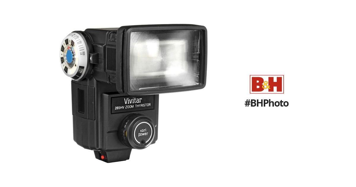 vivitar 285hv flash 233965 b h photo video rh bhphotovideo com vivitar zoom thyristor 285 flash manual Vivitar Digital Camera Manual