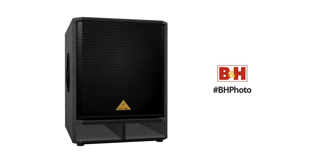 behringer vp1800s 18 subwoofer speaker vp1800s b h. Black Bedroom Furniture Sets. Home Design Ideas