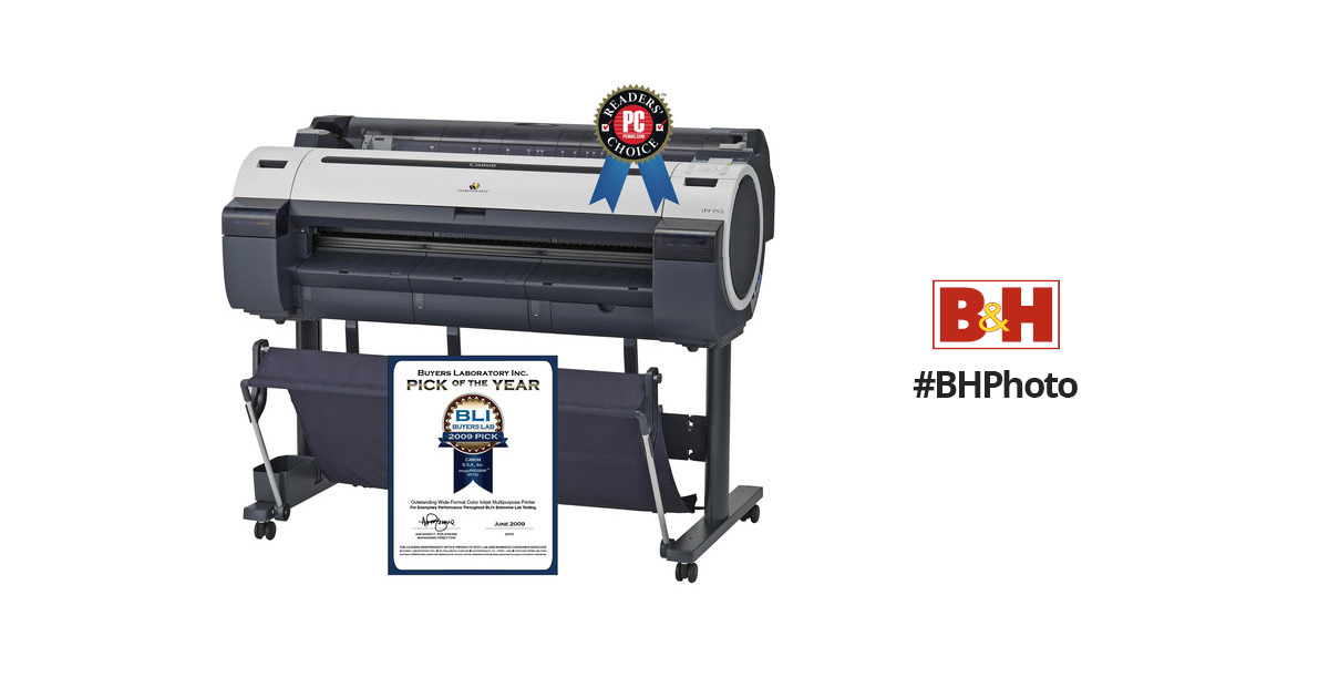 Canon imagePROGRAF iPF755 HDI Printer Driver for Windows