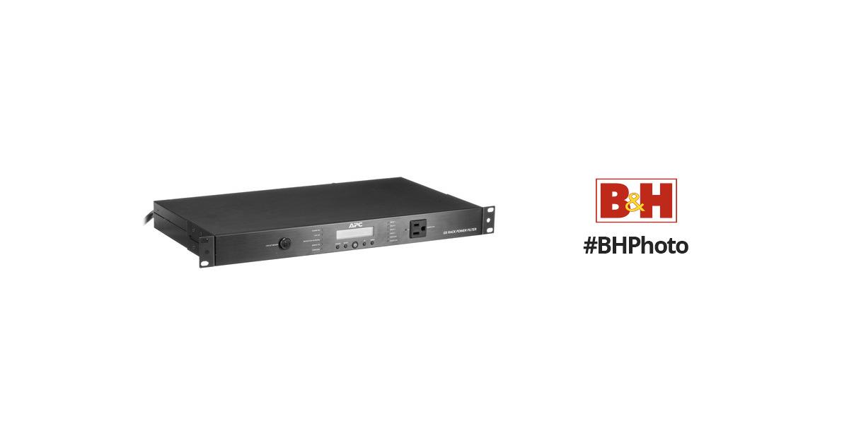 APC AV 15 Amp G Type Rack Power Filter, 120V