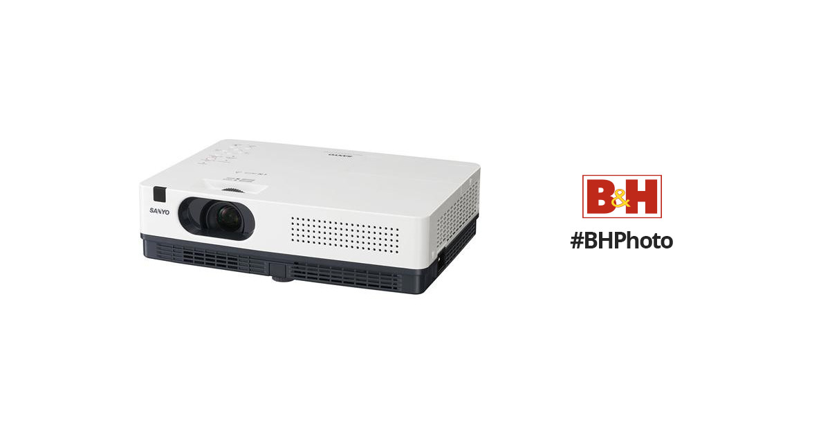 sanyo plc xw200 3lcd projector plc xw200 b h photo video rh bhphotovideo com