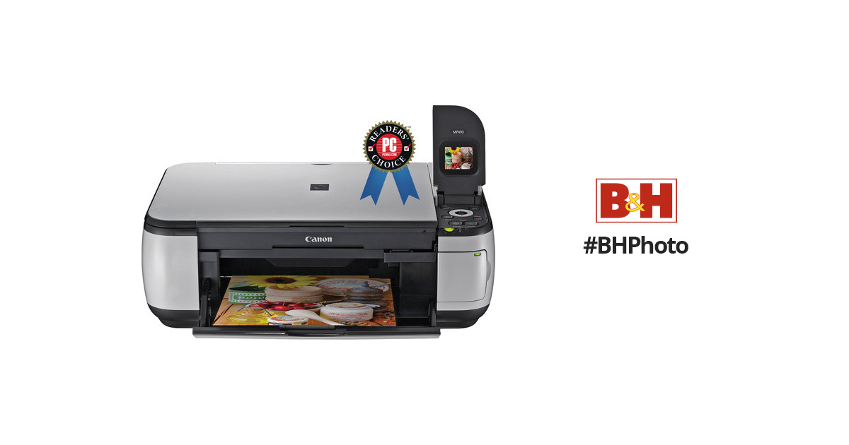 Canon Pixma Mp490 Photo All In One Printer 3745b002 Bh Photo
