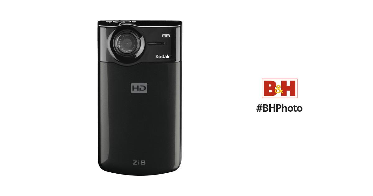 kodak zi8 pocket video camera black 8796062 b h photo video rh bhphotovideo com Kodak Zi6 Kodak Zx5