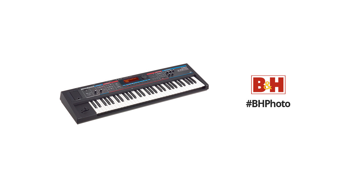 JUNO-Di - 61-Key Mobile Synthesizer with Song Player