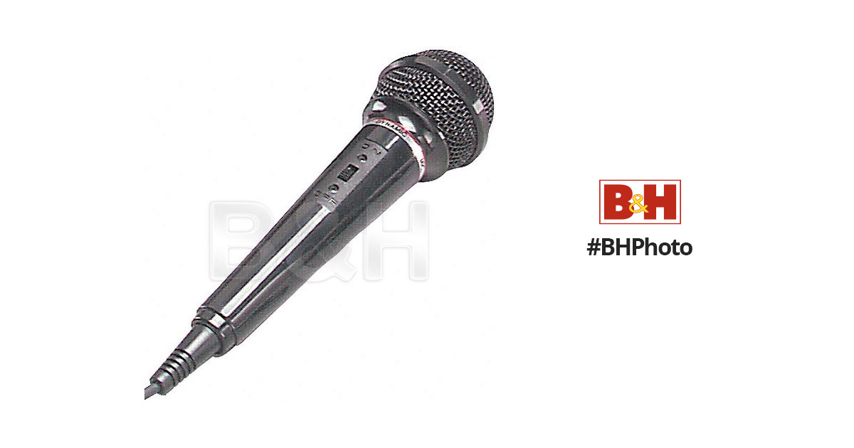 bescor dm 20 dynamic microphone dm20 b h photo video. Black Bedroom Furniture Sets. Home Design Ideas