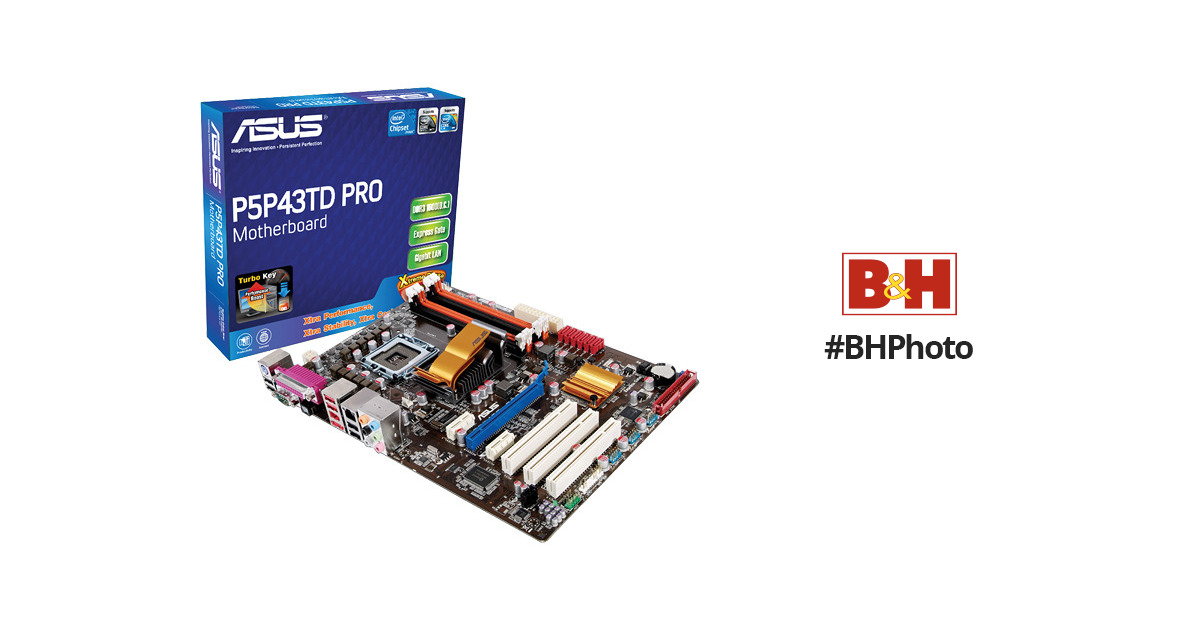 ASUS P5P43TD PRO Computer Motherboard