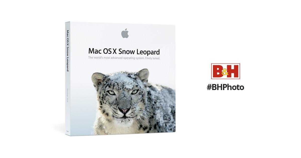 apple mac os x 10 6 snow leopard mc223z a b h photo video rh bhphotovideo com X Server Org Mac OS X Server Logo