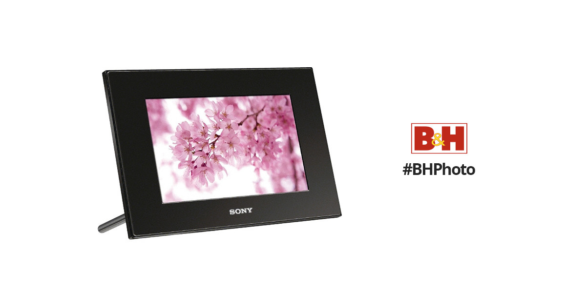 Sony Dpf A72nb Digital Photo Frame 7 Lcd Dpf A72nb Bh