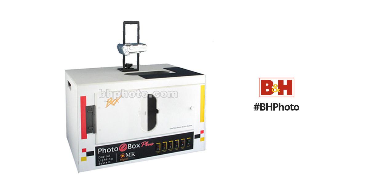 MK Digital Direct Photo eBox Plus Fluorescent, Tungsten-Halogen Lighting  Kit (120VAC)