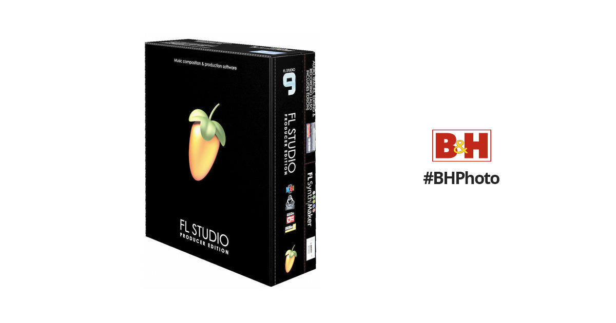 Image-Line FL Studio 9 Producer Edition - Virtual Studio
