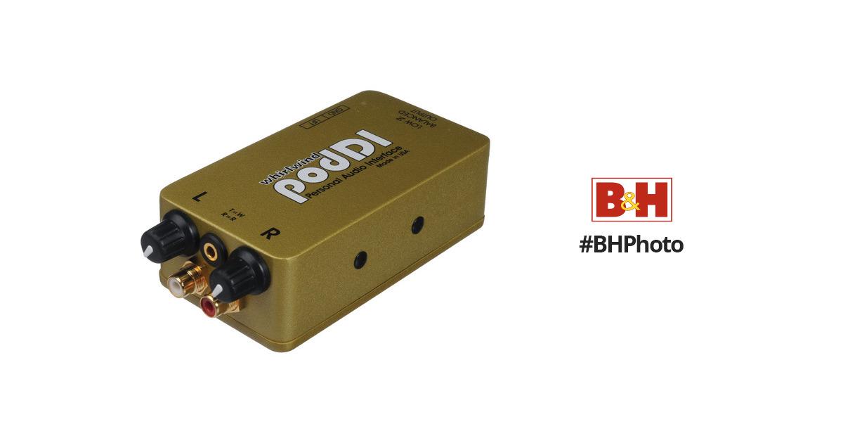 Poddi Personal Audio Interface : Whirlwind poddi personal audio interface b h photo