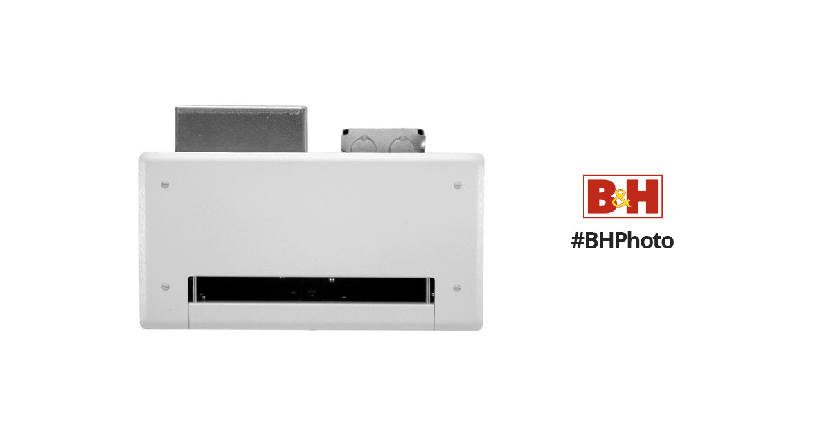 85C New FSR PWB-100-BLK Wall Mounted Back Box /& Cover