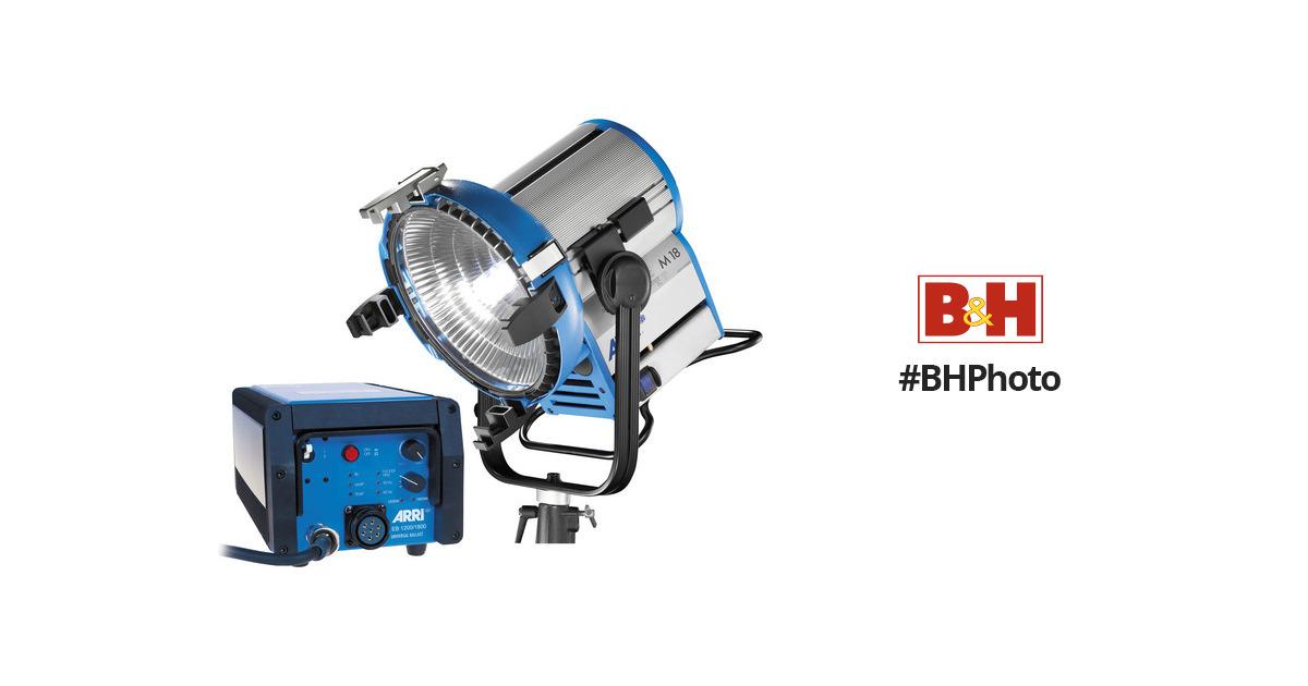 2b6afb35e8b30 ARRI M18 HMI Lamp Head with ALF DMX Ballast Kit L0.0006574 B H