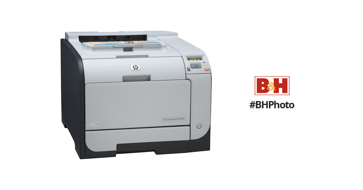 HP (CB494A) Color LaserJet CP2025n Printer CB494A#ABA B&H Photo