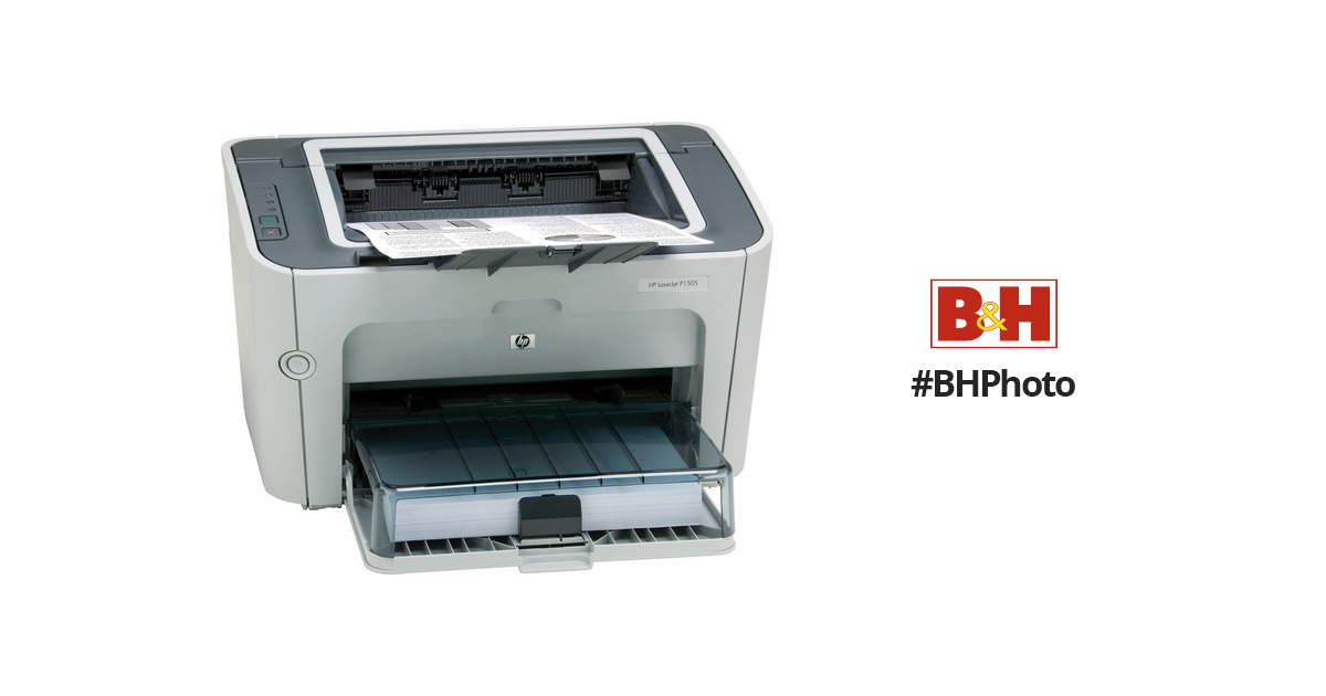 hp cb412a laserjet p1505 printer cb412a aba b h photo video rh bhphotovideo com hp laserjet p1505 printer driver free download for windows 7 hp laser p1505 printer driver