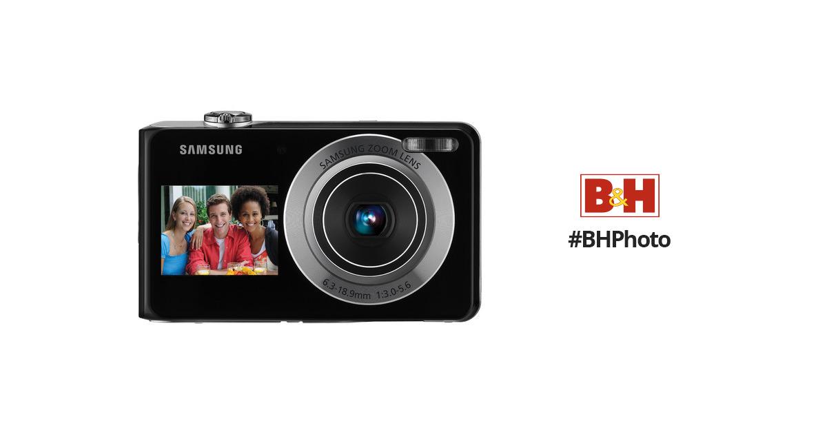 samsung tl205 dualview digital camera silver ec tl205zbpsus rh bhphotovideo com Samsung TL205 Camera Charger Samsung TL205 Camera Charger