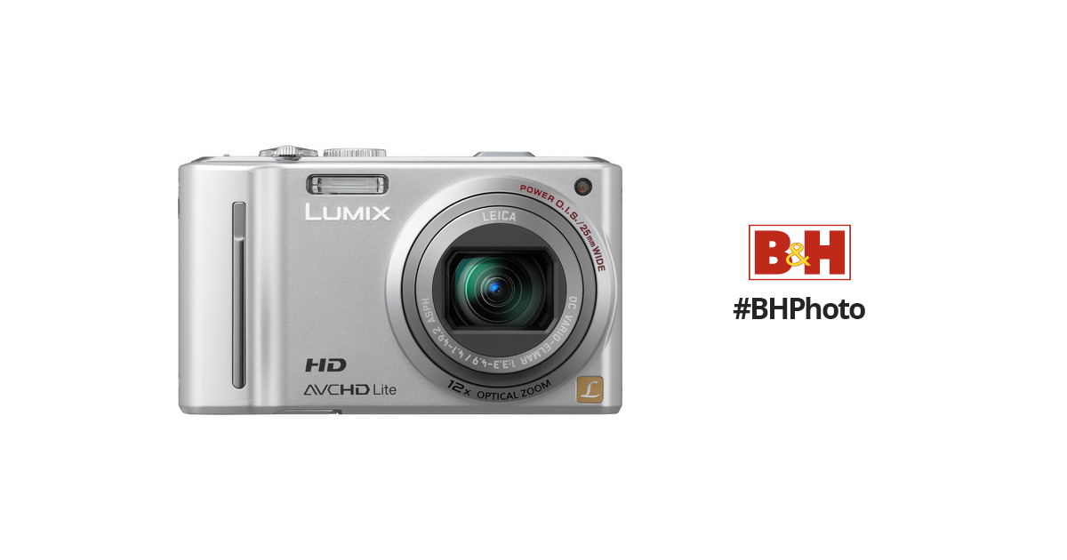 panasonic lumix dmc zs7 silver digital camera dmc zs7s b h rh bhphotovideo com lumix dmc sz7 mode d'emploi panasonic lumix dmc-sz7 manual