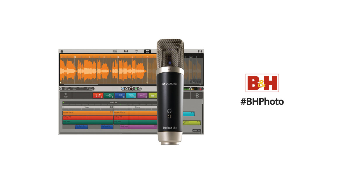 m audio vocal studio usb microphone personal 8250 30006 01 b h. Black Bedroom Furniture Sets. Home Design Ideas