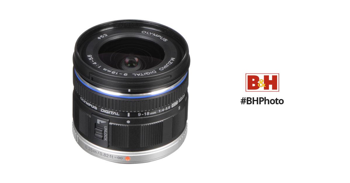 Olympus MZuiko Digital ED 9 18mm F 4 56 Lens 261503 BH Photo