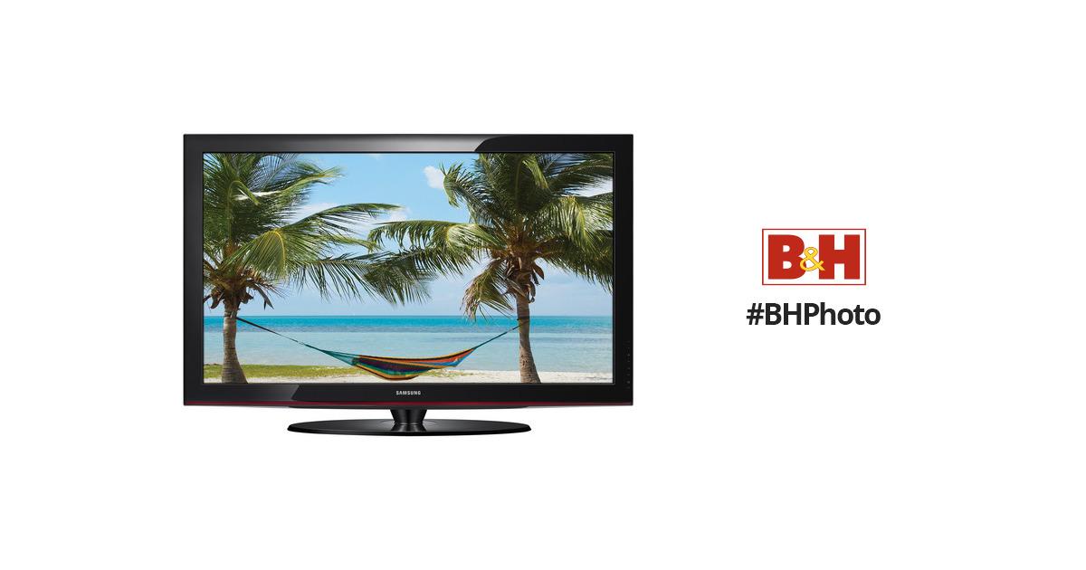 samsung pn42c450 42 720p plasma tv pn42c450b1dxza b h rh bhphotovideo com