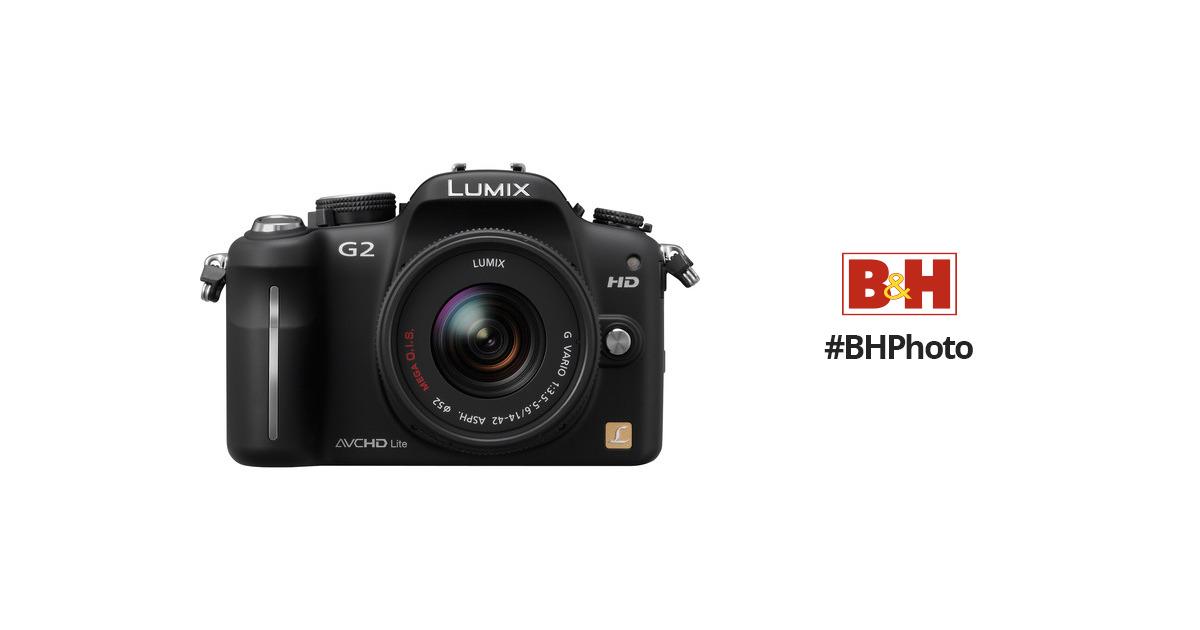 Panasonic Lumix Dmc G2 Interchangeable Lens System Dmc G2k Bh