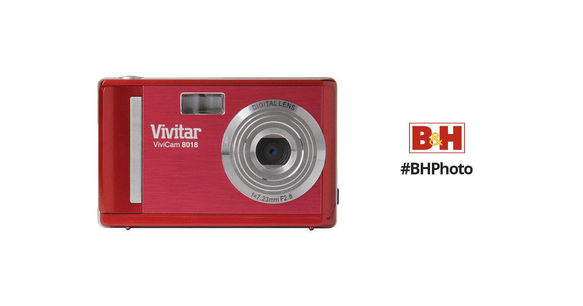 vivitar vivicam 8018 digital camera red 8018red b h photo rh bhphotovideo com Old Vivitar Models Old Vivitar Models