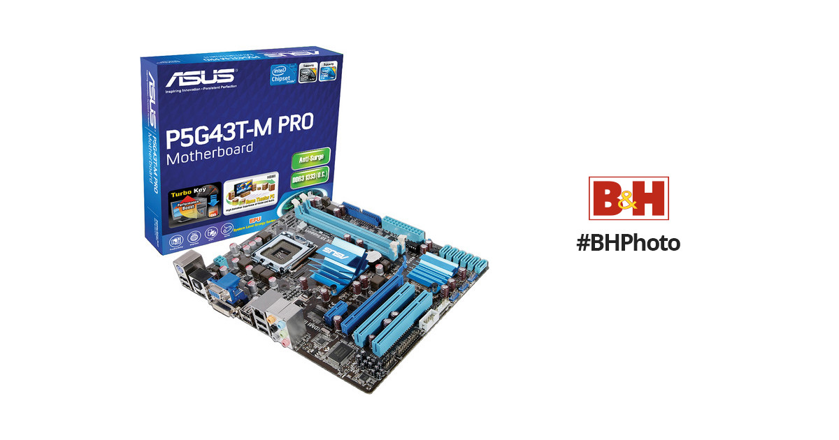 ASUS P5G43T-M Pro Motherboard
