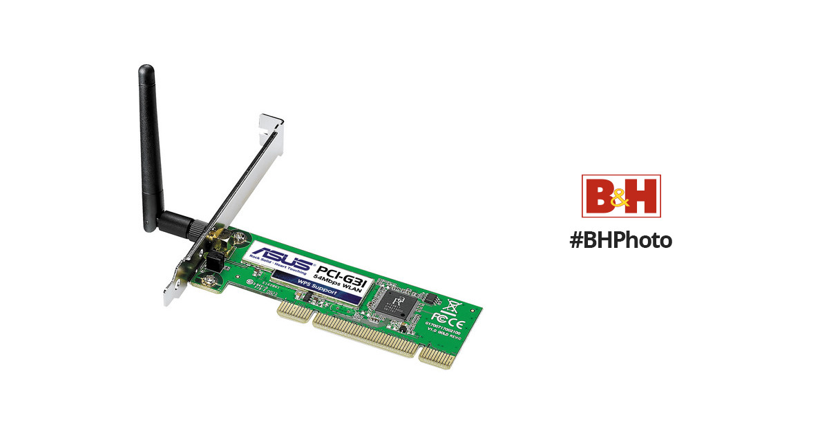 DRIVERS FOR ASUS WIRELESS CARD PCI-G31