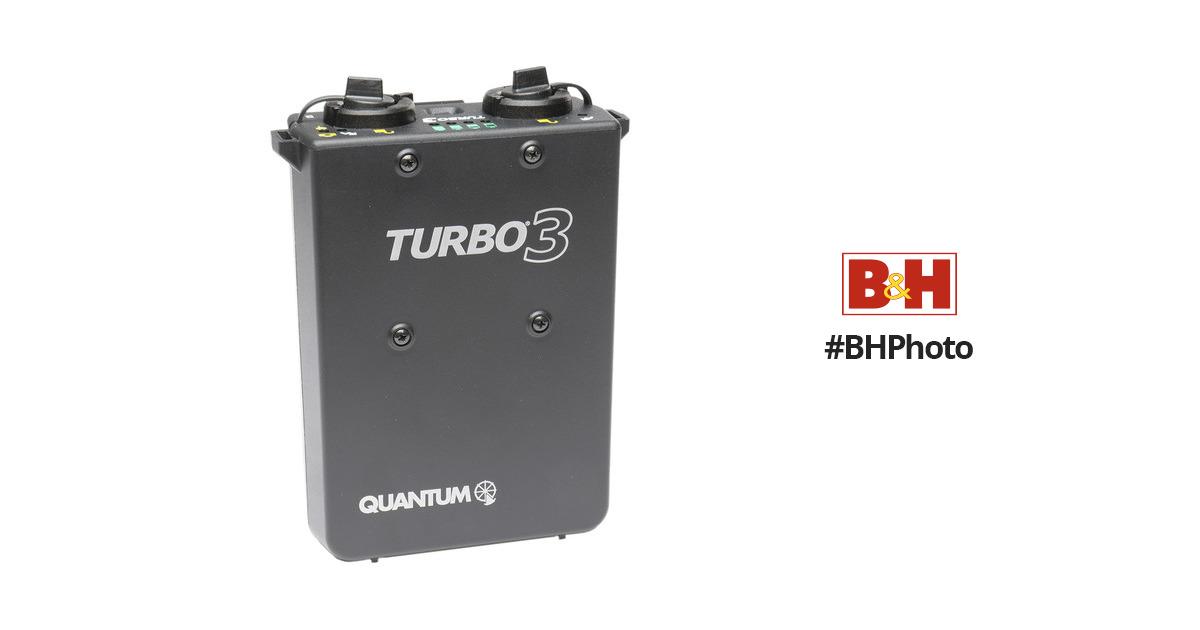 Quantum Instruments Turbo 3 Rechargeable Battery (US / Canada / Japan Plug)