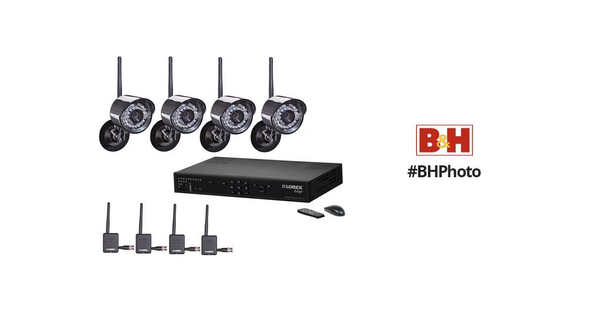 Lorex 8 Channel Edge Wireless Security Camera
