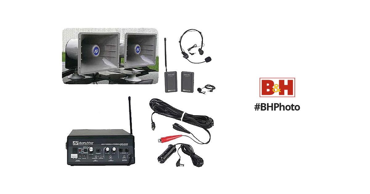 amplivox sound systems sw312 sound cruiser wireless 60w sw312