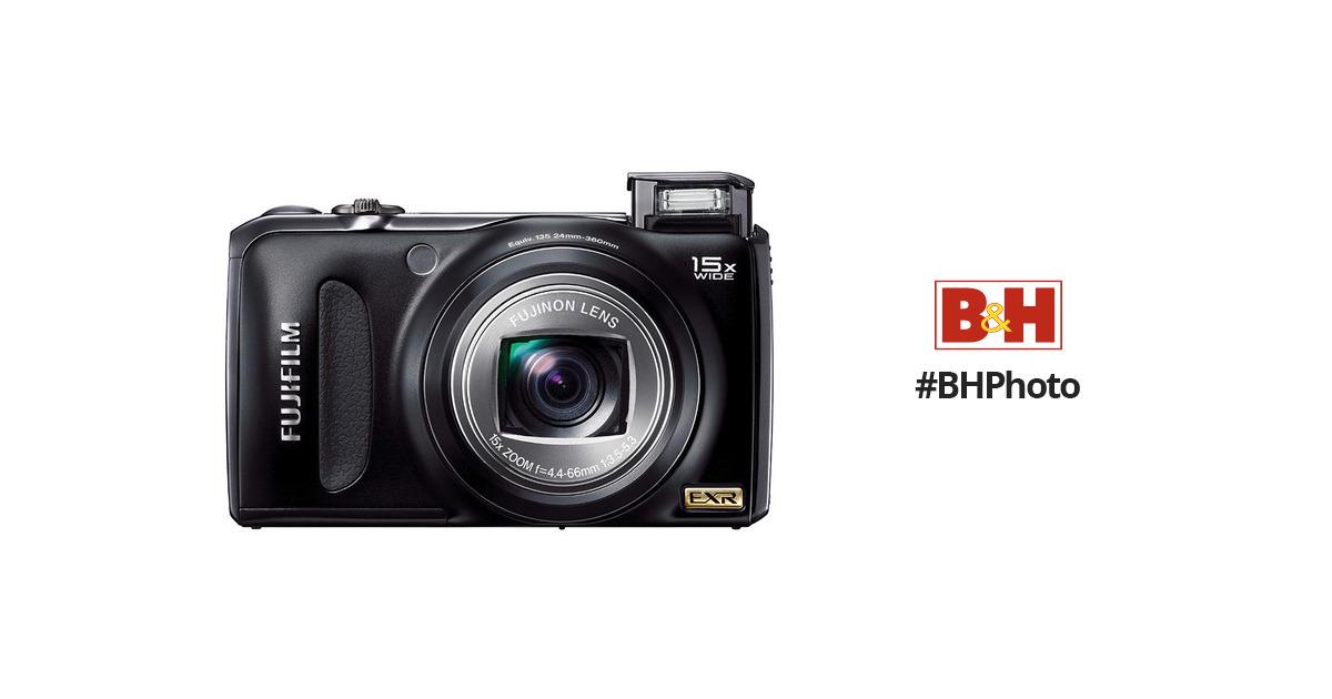 fujifilm finepix f300exr digital camera black 16083016 b h rh bhphotovideo com Fujifilm FinePix S3200 Fujifilm FinePix Camera Manual