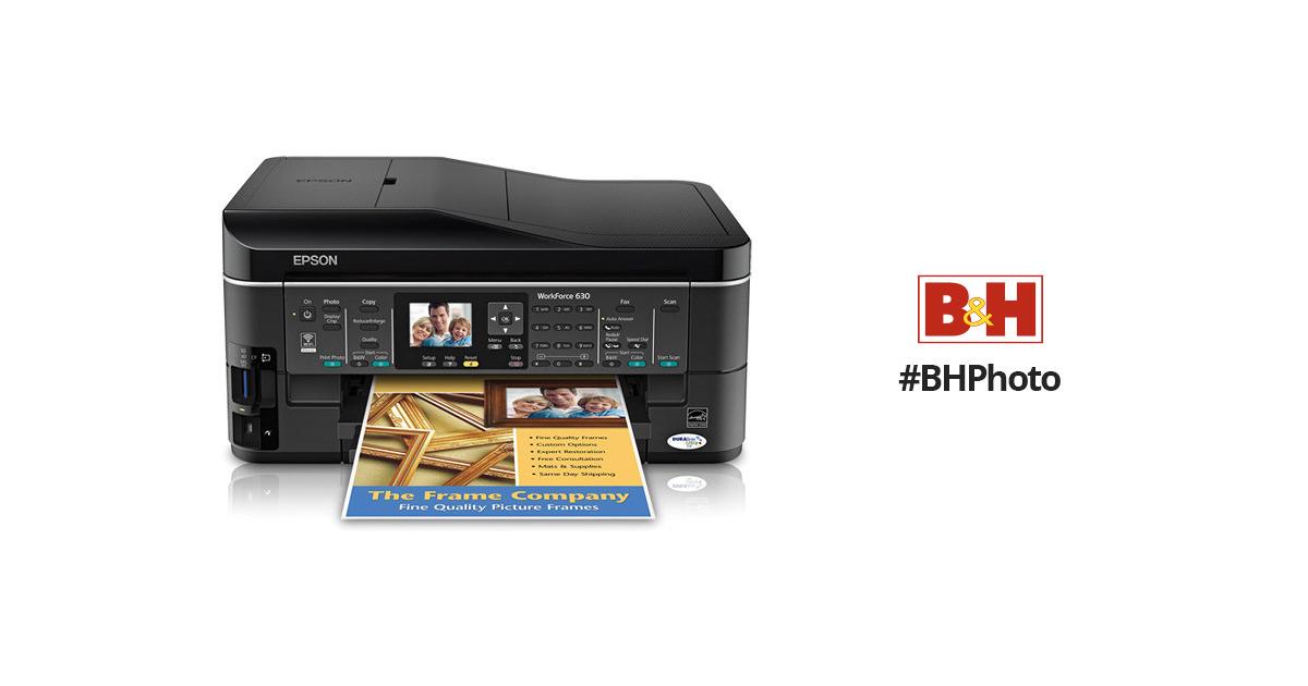 Epson WorkForce 630 Printer Vista