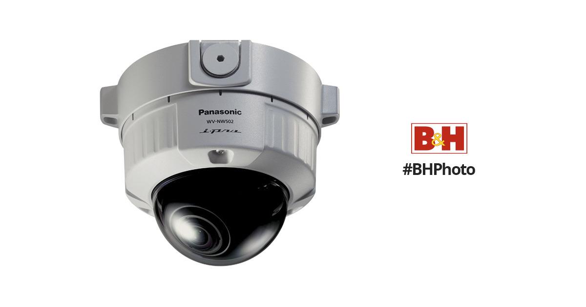 Panasonic WV-NW502S Network Camera Driver Windows