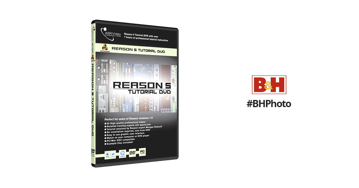 ASK Video Reason 5 Tutorial - Tutorial DVD