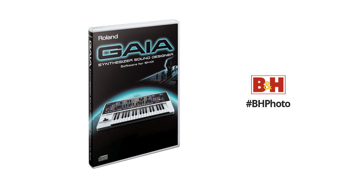 Roland Sd Sh01 Gaia Synthesizer Sound Designer Software Sd Sh01