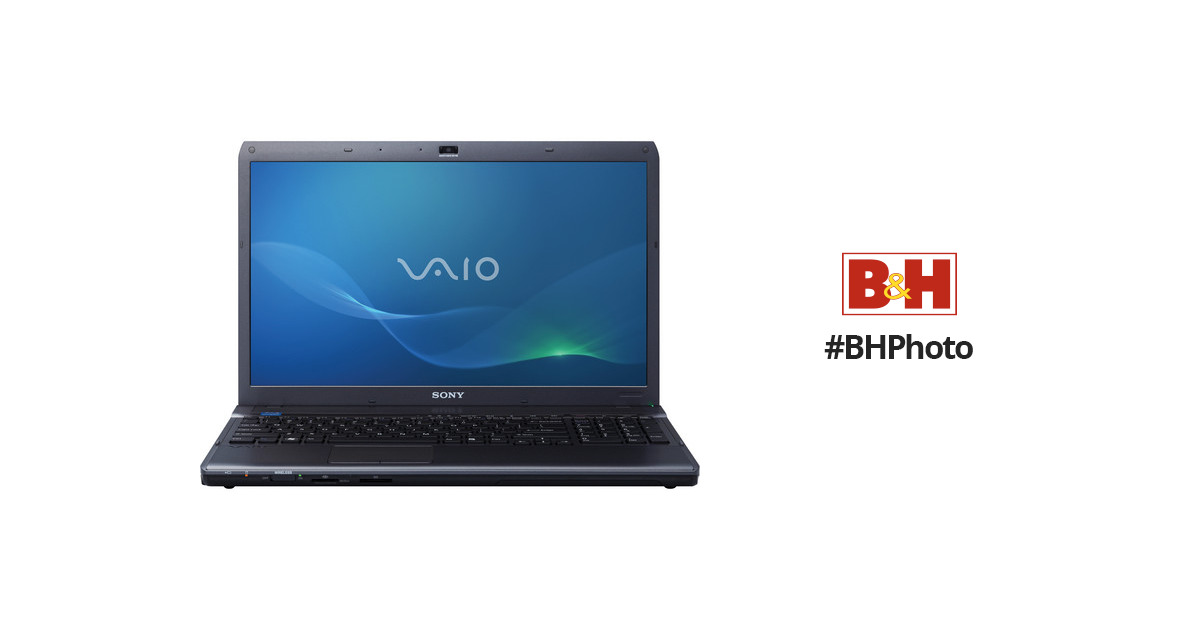 Sony Vaio VPCF137FX/B Notebook Windows